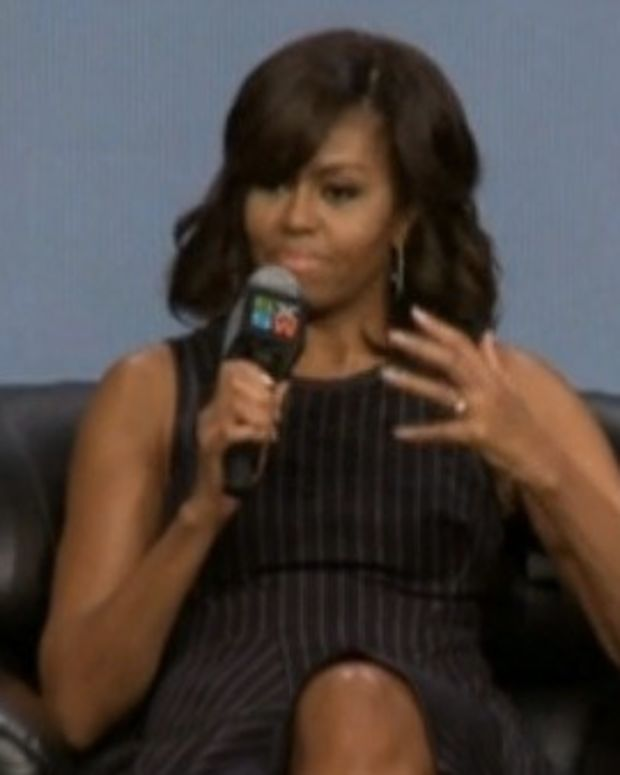 Michelle Obama: 'I Will Not Run For President' (Video) Promo Image