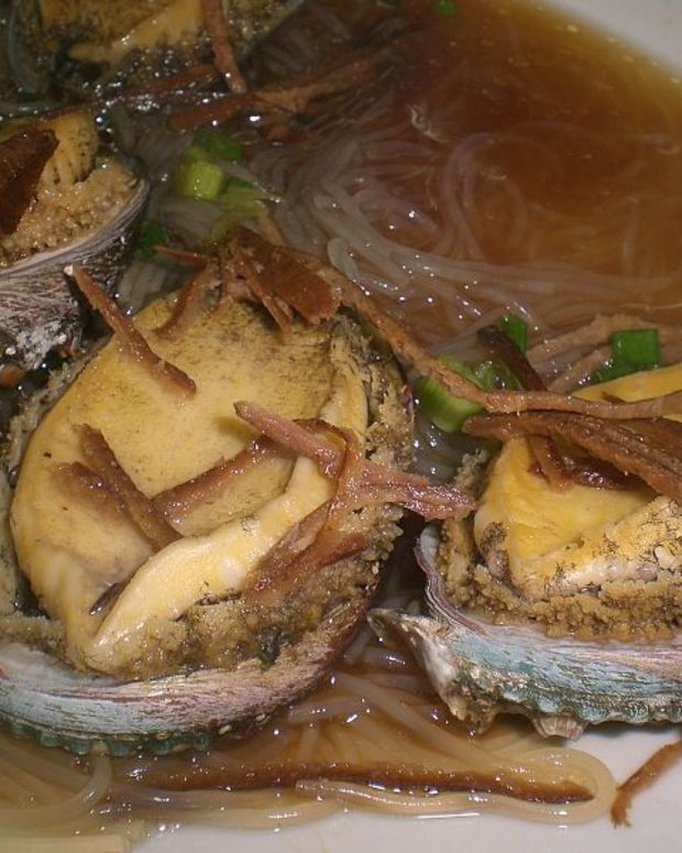Chinese Seafood Dish.