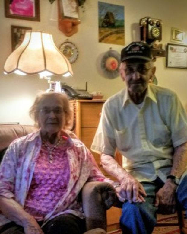 Esther and Fred Mayhew