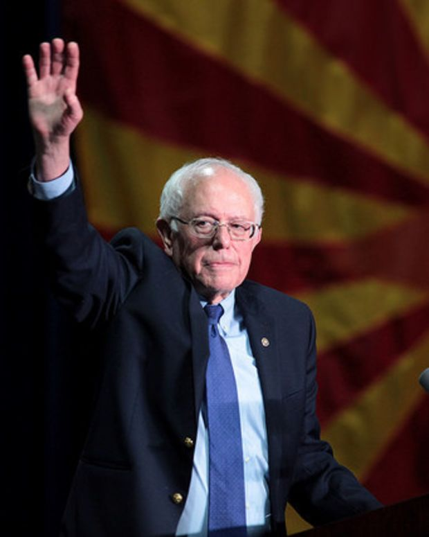 Sanders Is Going To The Democratic Convention Promo Image