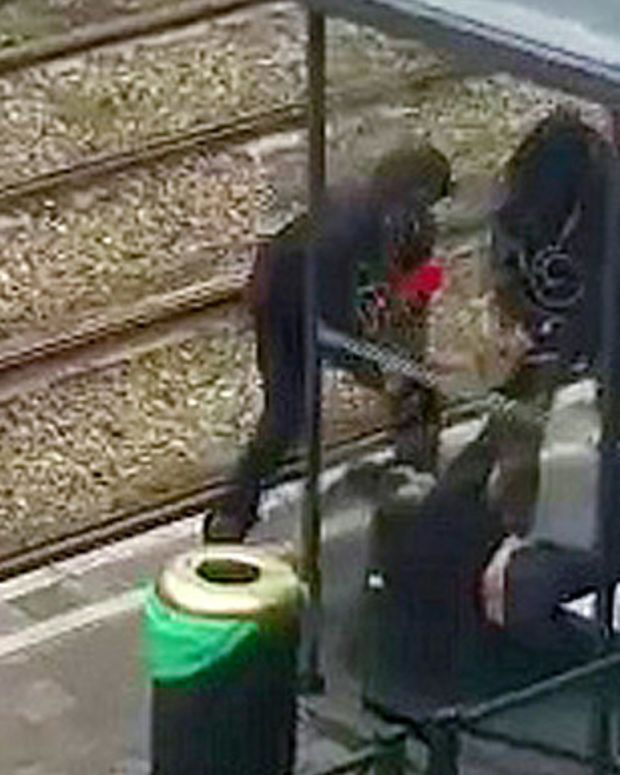 Belgian Police Shoot Man Carrying Explosives-Laden Bag Promo Image