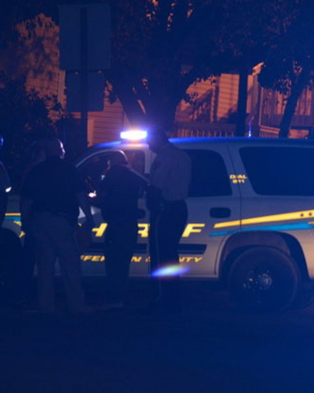 Police On Scene Of Fatal Shooting.
