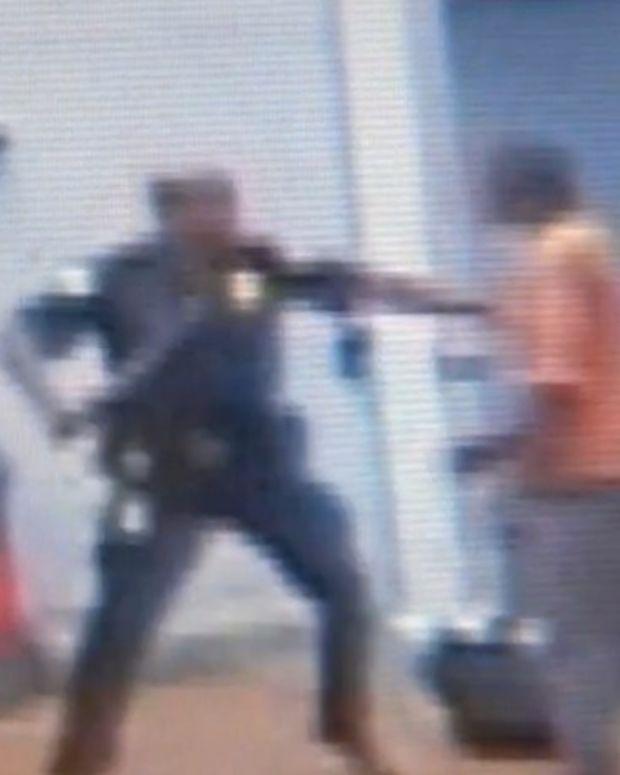 Video Shows Atlanta Wal-Mart Tomato Incident (Video) Promo Image