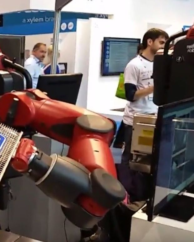 Ex-McDonald's CEO: Robots Cheaper Than Staff (Video) Promo Image