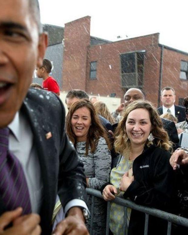 President Obama's Approval Rating Rises Again Promo Image