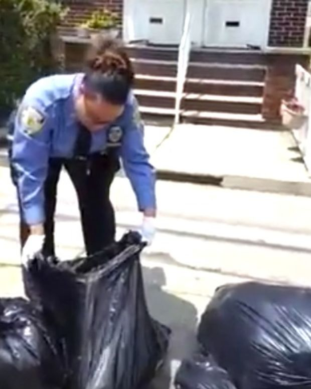 NYC Sanitation Searches People's Trash, Cites (Video) Promo Image