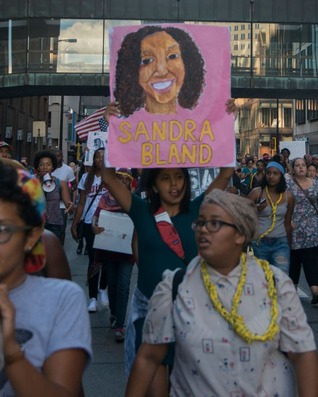 Protest For Sandra Bland