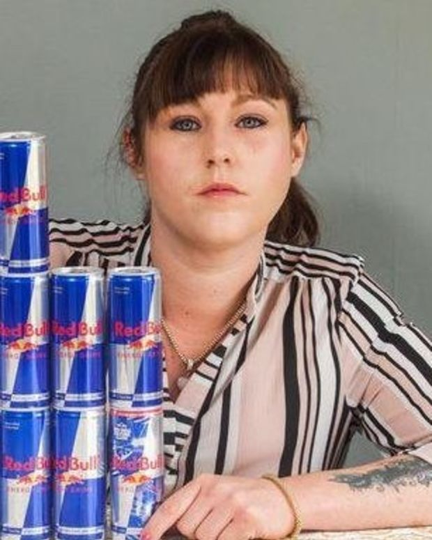 Woman Drinks 20 Red Bulls A Day, Almost Dies Promo Image