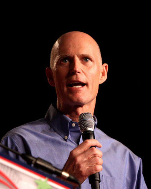 Florida Gov. Rick Scott Signs Anti-Abortion Law Promo Image