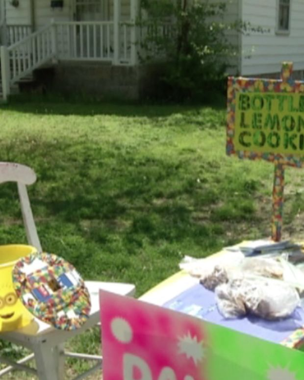 9-Year-Old Boy Starts Lemonade Stand To Pay For Adoption Promo Image