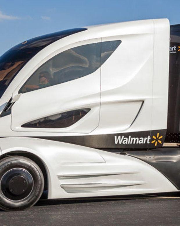 new Walmart truck