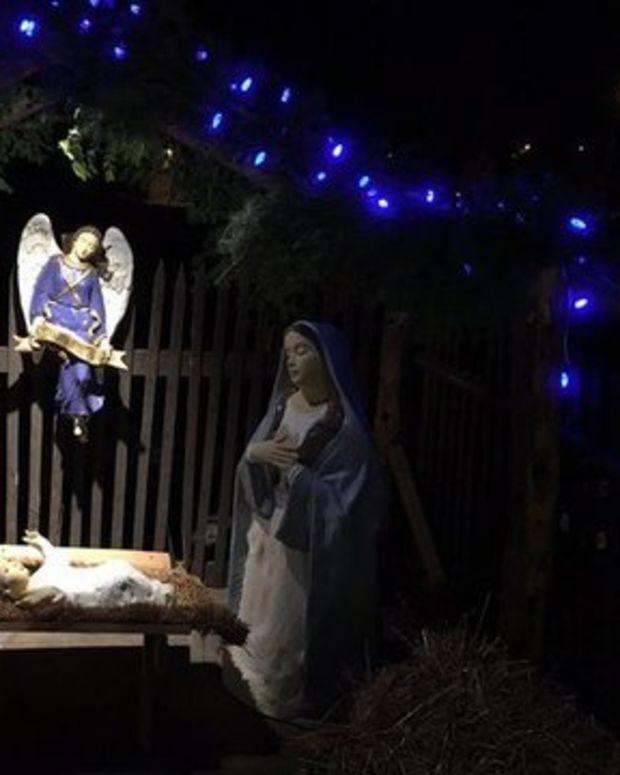 The Nativity in Wadena, Minnesota