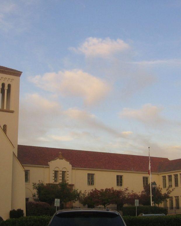 A high school in Palo Alto, CA