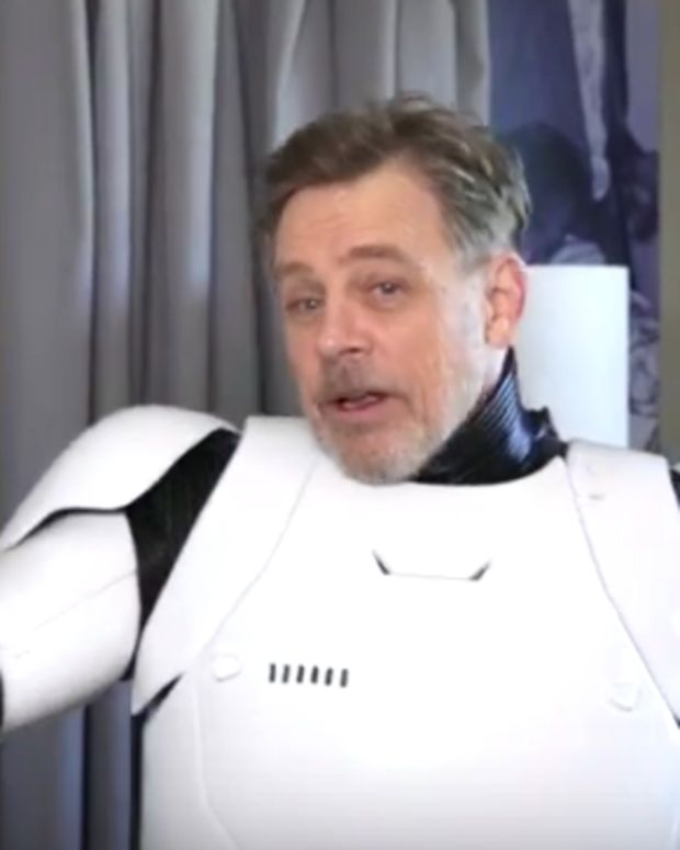 Mark Hamill As Stormtrooper.
