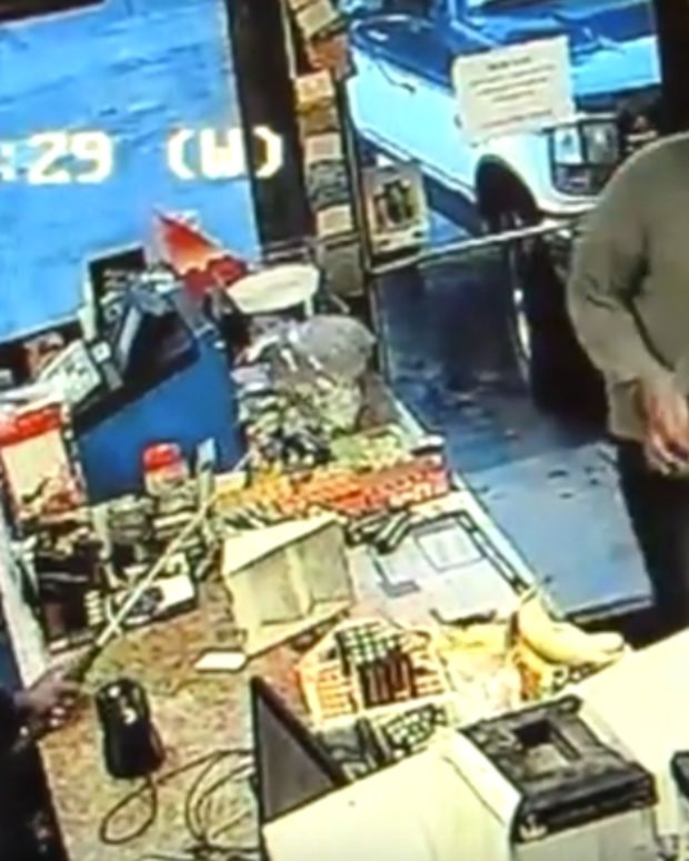 Store Clerk And Robber
