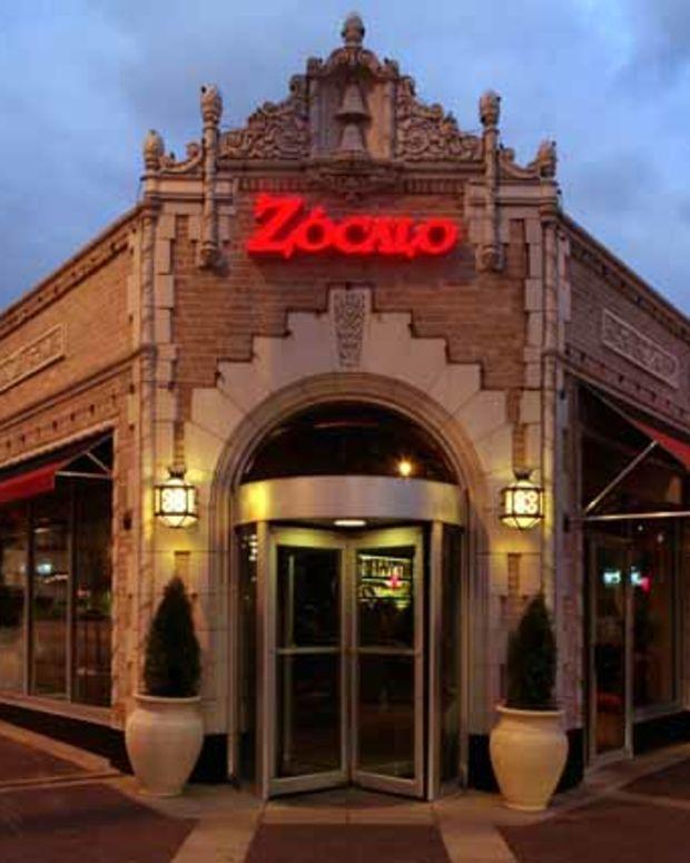 Zocalo Restaurant.