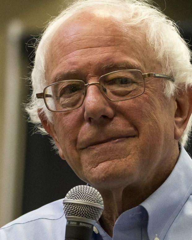 Bernie Sanders Is Now Hurting Democrats' Chances Promo Image