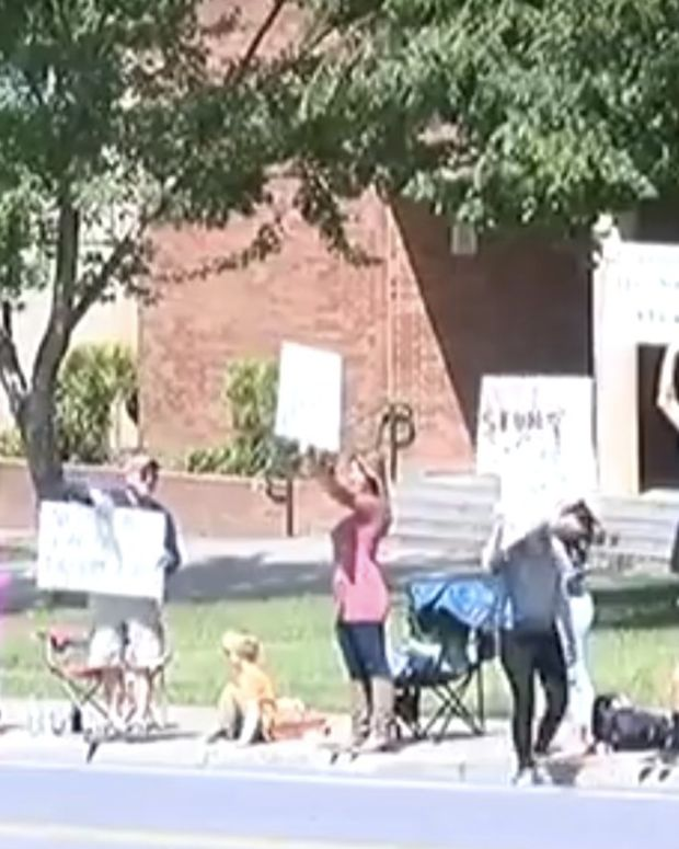 Students, Parents Protest Transgender Bathrooms (Video) Promo Image
