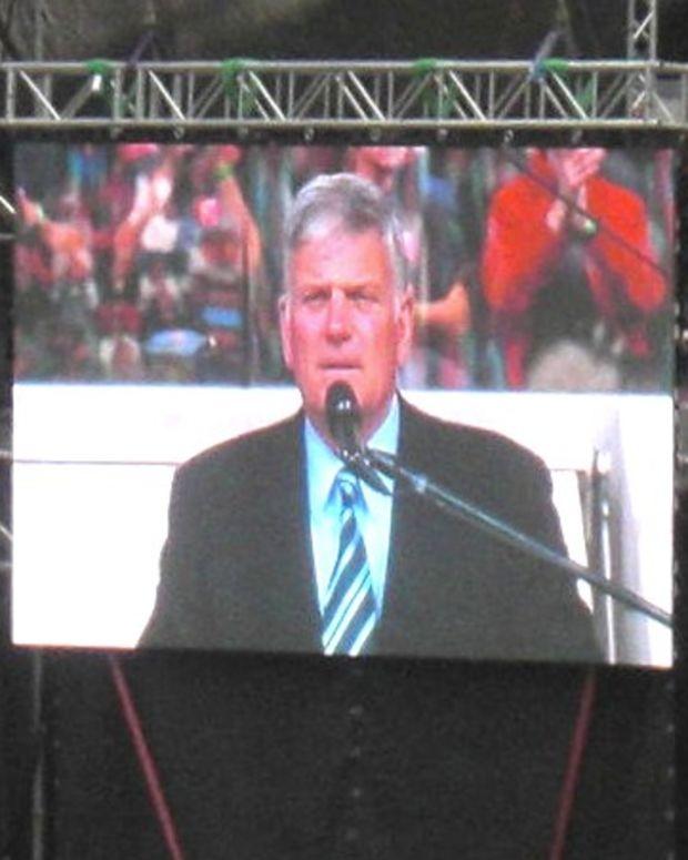 Franklin Graham: Christians Should Control School Board Promo Image