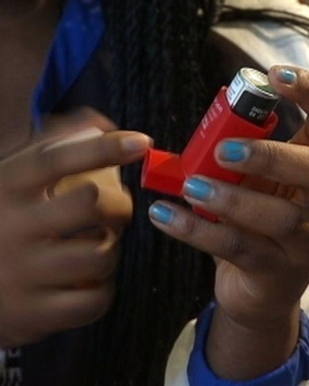 Indiyah Rush's inhaler
