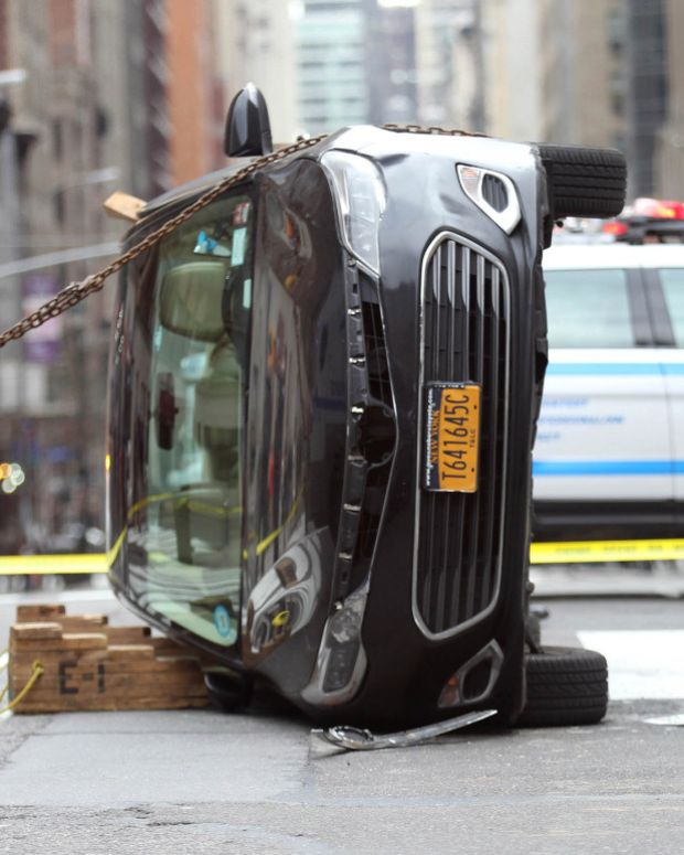 Good Samaritans Try To Rescue 77-Year-Old Struck By Cab Promo Image