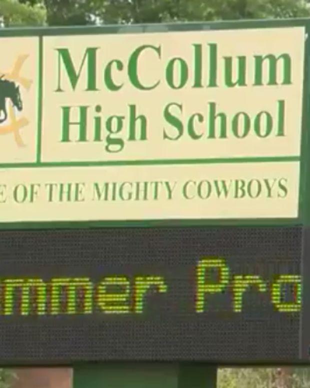 McCollum High School.
