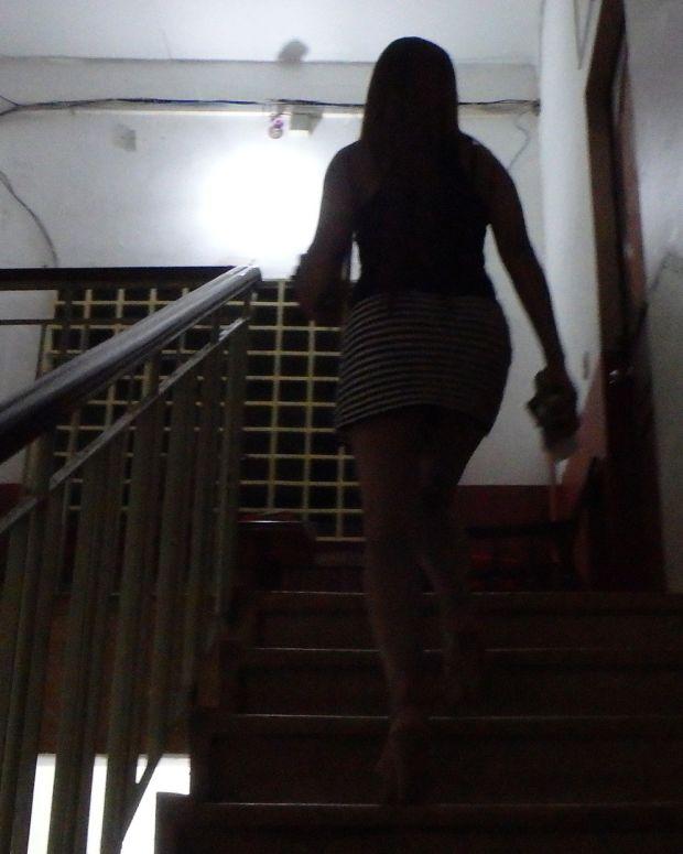 a prostitute