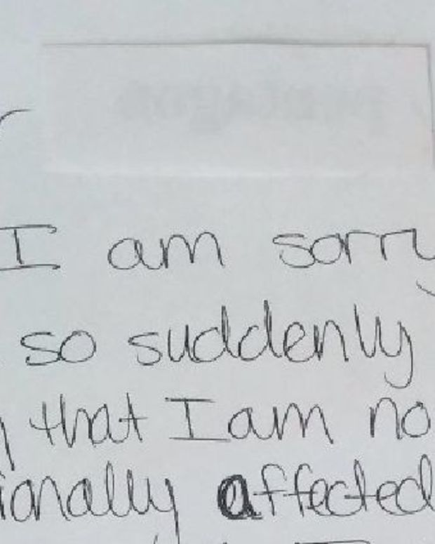 Worker's '2 Weeks Notice' Letter To Boss Goes Viral (Photo) Promo Image
