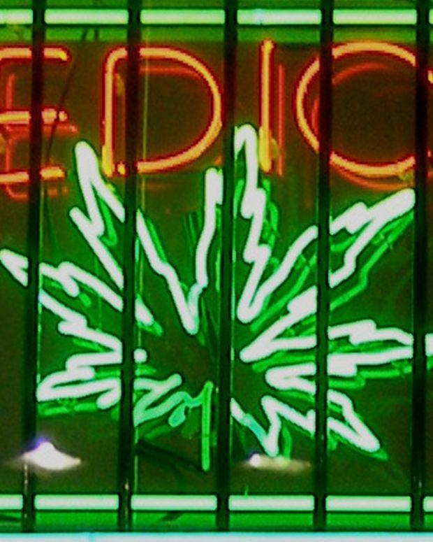 A medical marijuana dispensary in California