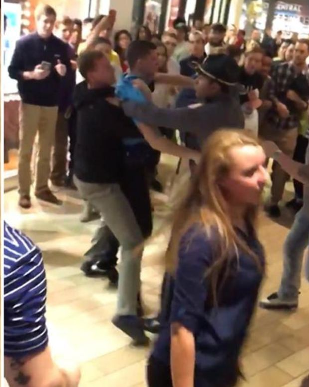 A Black Friday Fight At A Kentucky Mall.