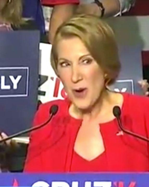 Cruz's VP Pick Carly Fiorina Breaks Into Song (Video) Promo Image