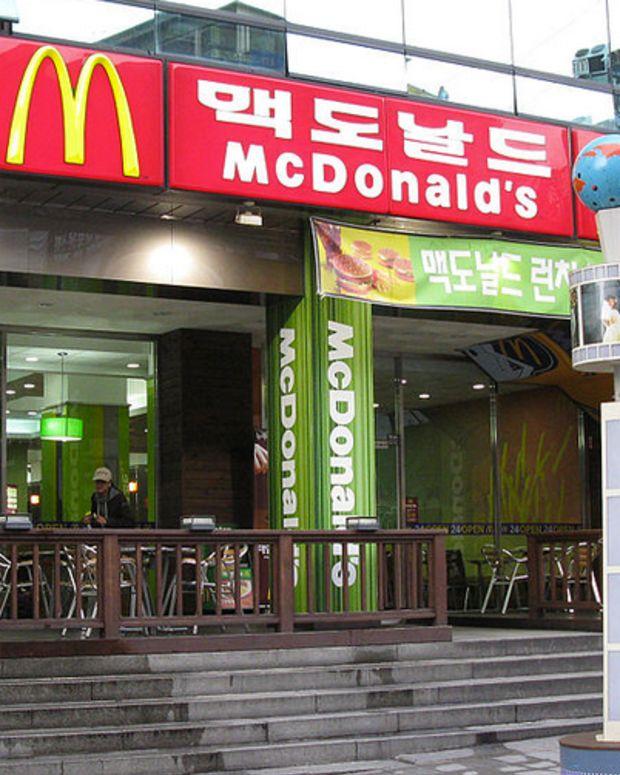 McDonald's South Korea
