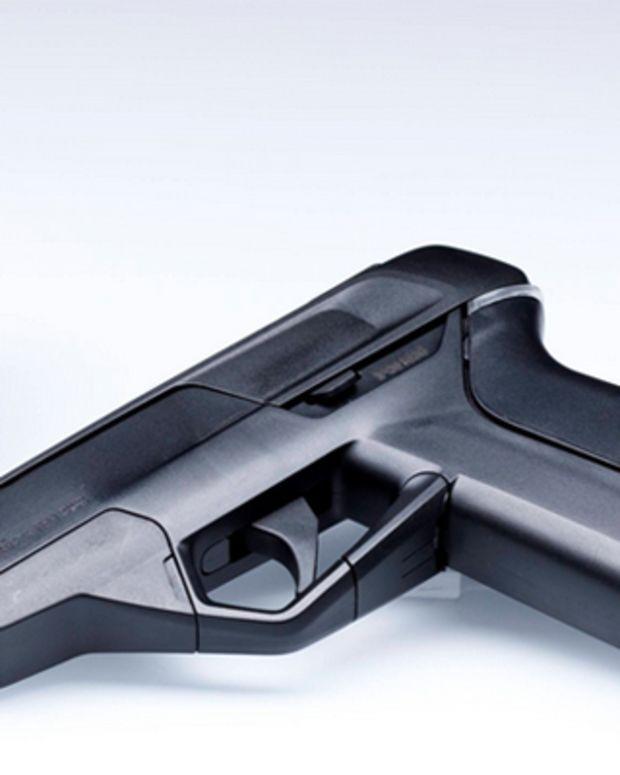 The Armatix iP1 smart gun.