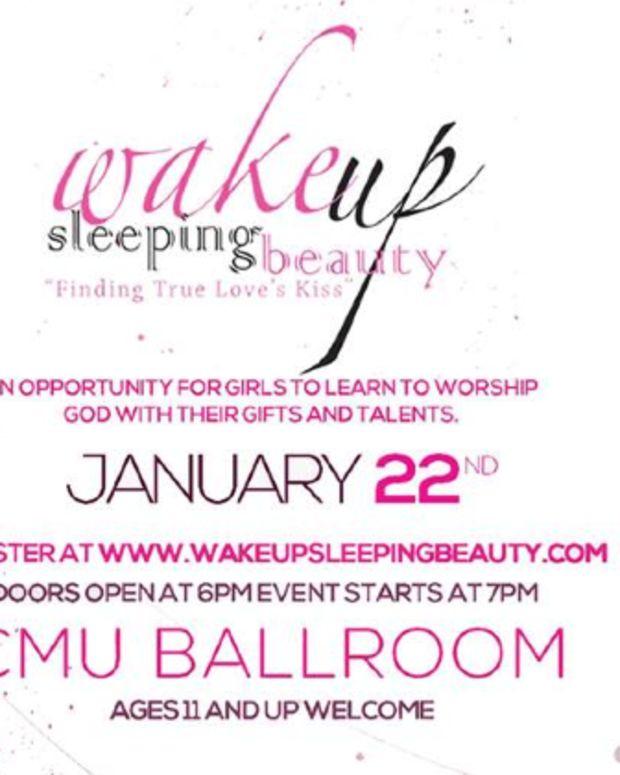 Wake Up Sleeping Beauty Flier