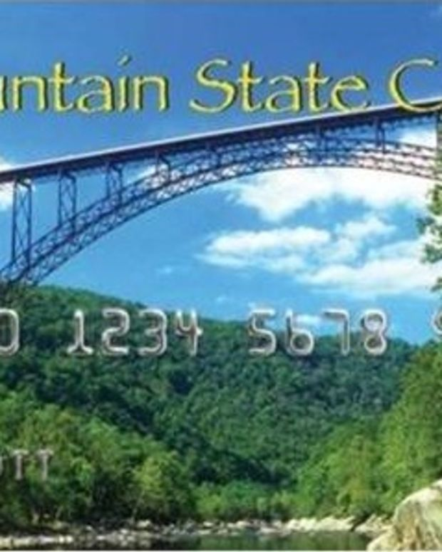 """A """"Mountain State Card"""", which is issued to West Virginians receiving food stamp benefits."""