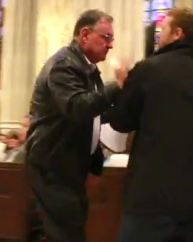 Pro-Animal Rights Christian Arrested During Mass (Video) Promo Image