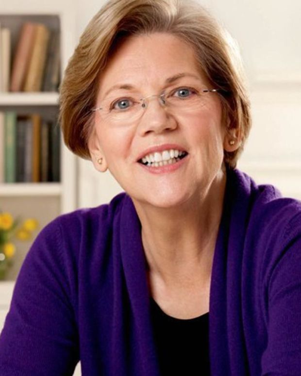 Potential VP Warren Blasts Republicans, Trump Promo Image