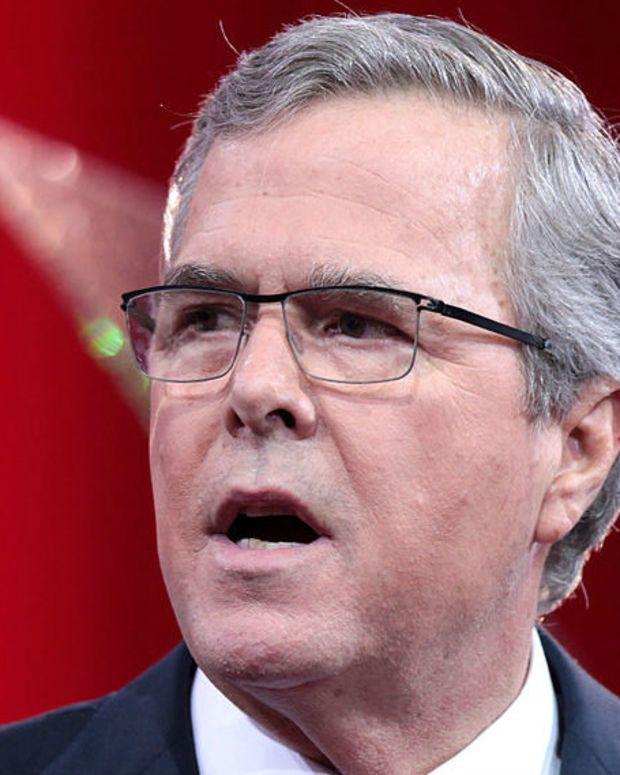 Jeb Bush Refuses To Support Donald Trump For President Promo Image