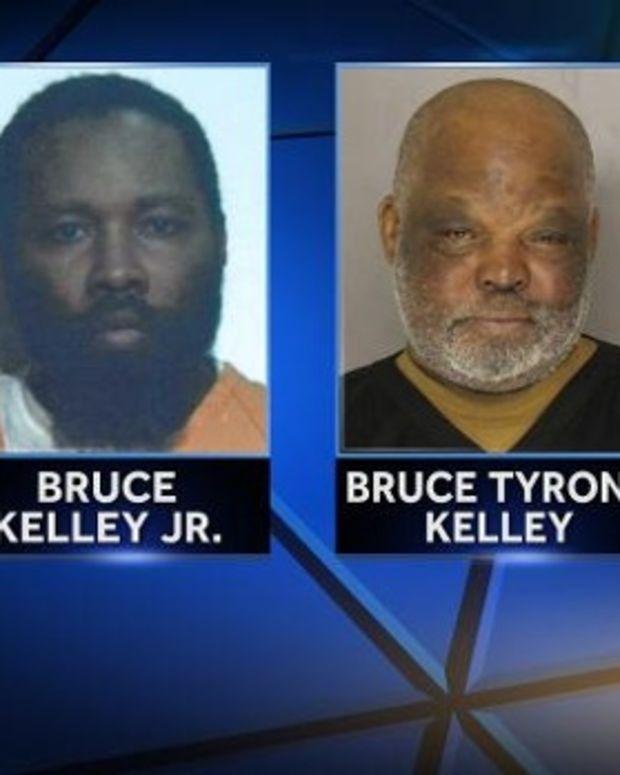 Bruce Kelley Jr. (left) and Bruce Kelley Sr. (right)