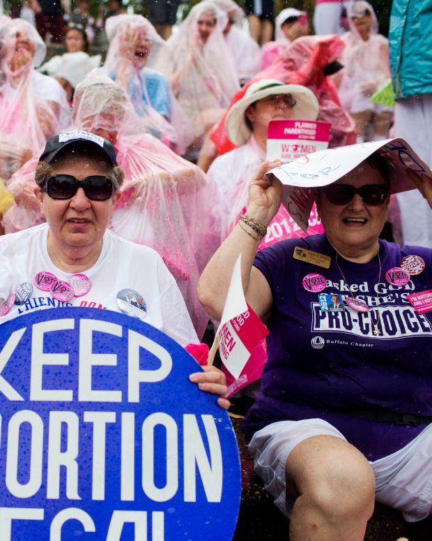 Planned Parenthood Demonstration.