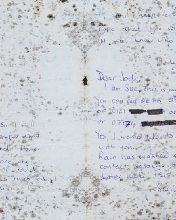 The Note From Albert Victor Edwards' Grave.