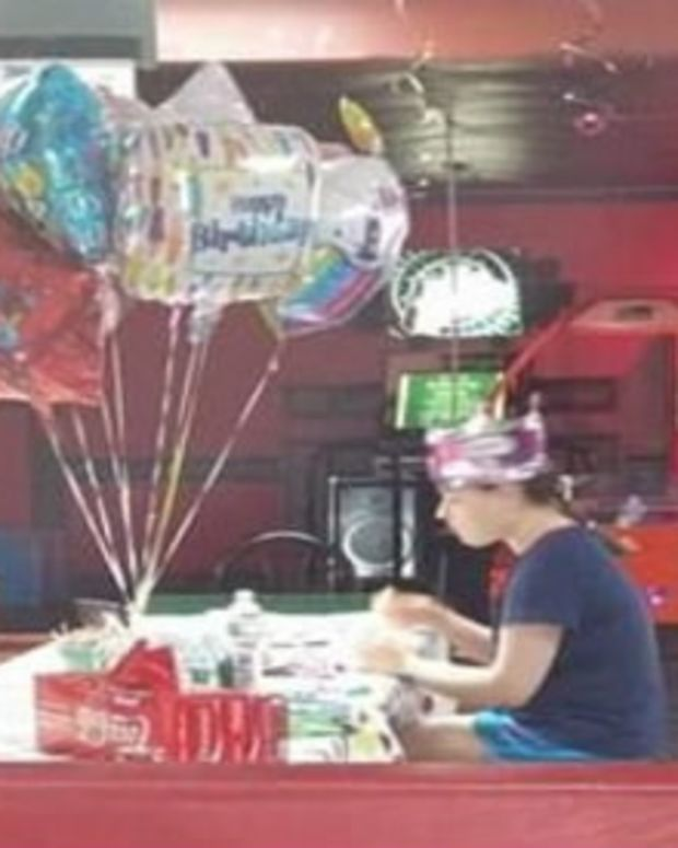 Photo Of Autistic Teen's Birthday Party Goes Viral  Promo Image