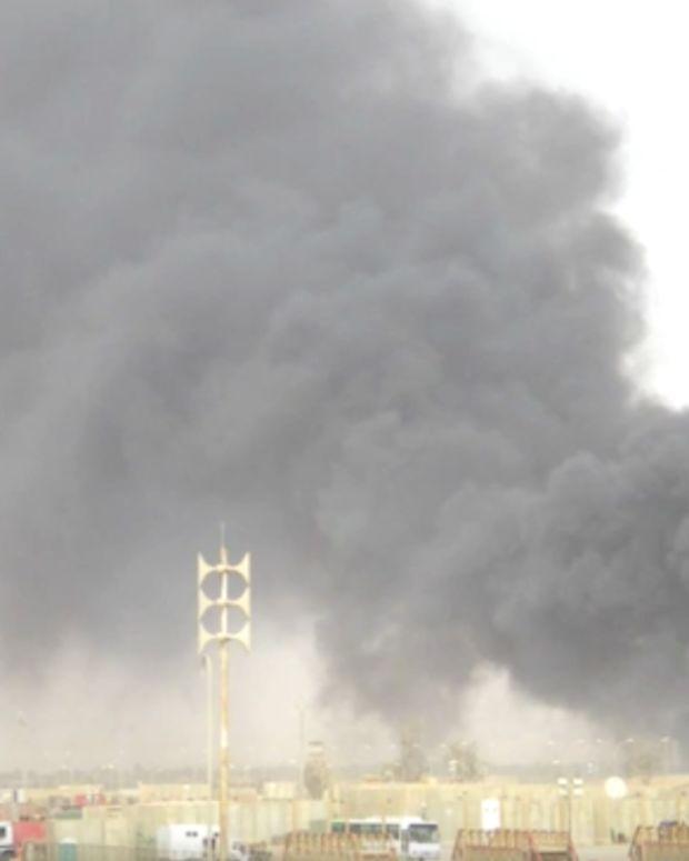 U.S. military burn pit