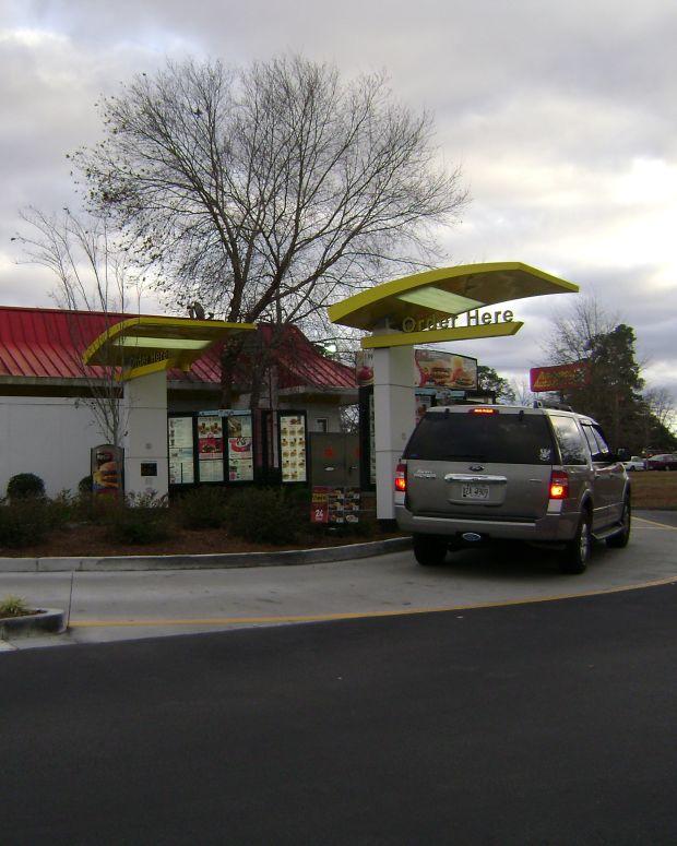 McDonald's Drive-Thru.