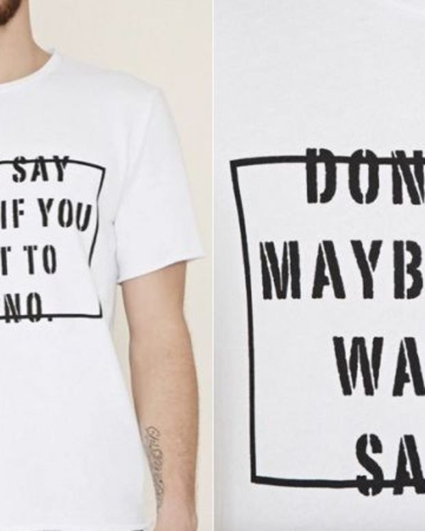 Forever 21 Apologizes For 'Rapey' T-Shirt Promo Image