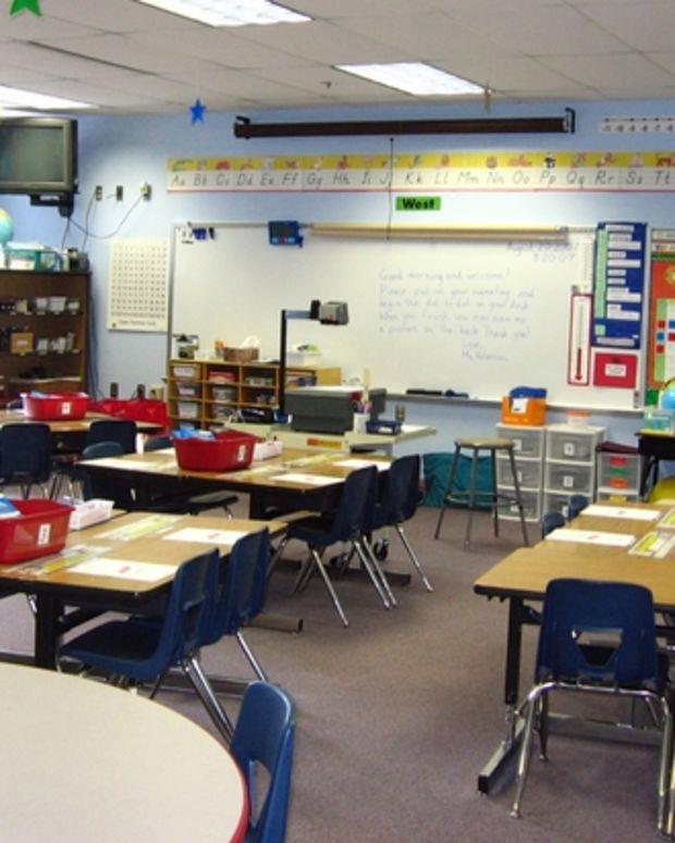 A Classroom In an LAUSD School