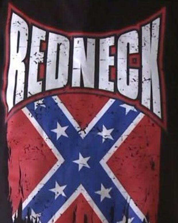 Confederate flag shirt
