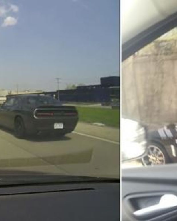 First Look At Who This Officer Caught Speeding, Then Look At Who He Pulled Over (Video) Promo Image
