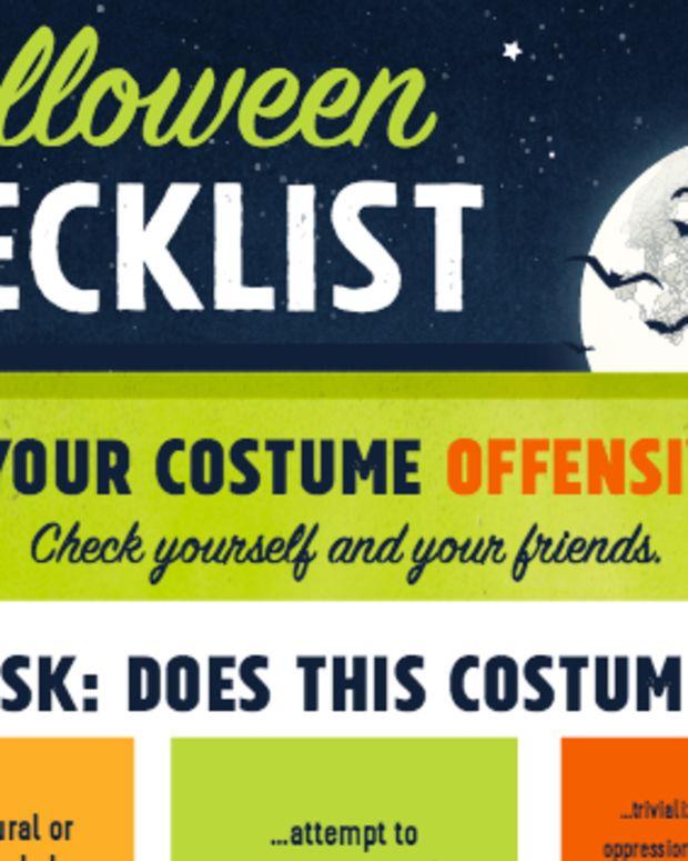 Halloween Costume Checklist