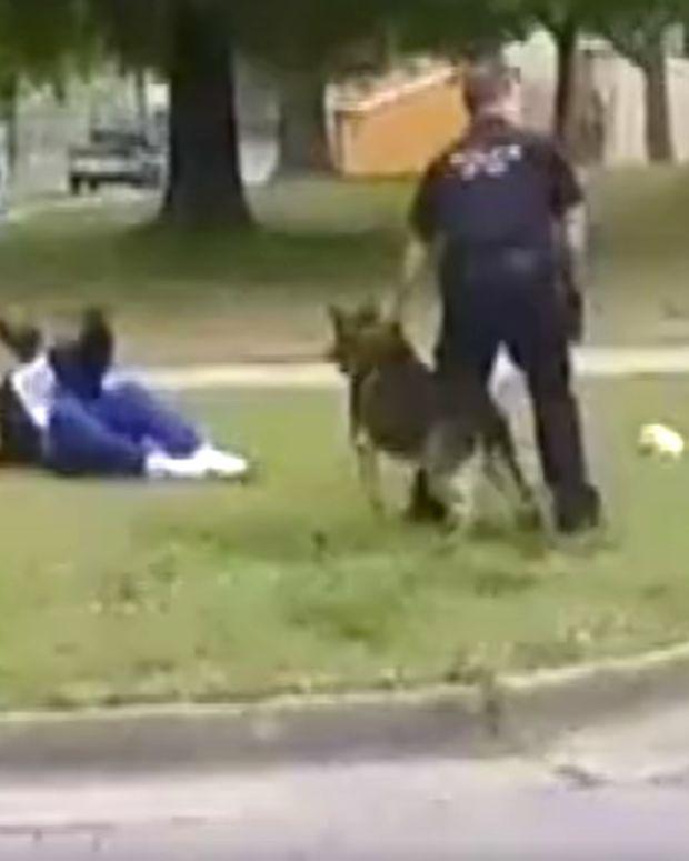 K9 Police Dog Attacks Bystander In Virginia (Video) Promo Image